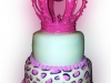 princess-crown-leopard-print-cake